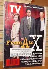 TV Guide - May 17-23 1997 X-Files Foldout Cover David Duchovny Gillian Anderson