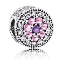 GENUINE & AUTHENTIC PANDORA Dazzling Floral Charm. 791820PCZMX.