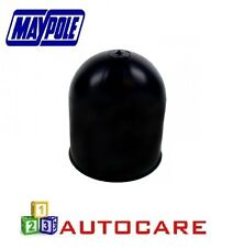 Black Plastic Tow Bar Cap For Towing Hitch 50mm MP244