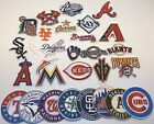 Major League Baseball Team Patch, Embroidered, Iron or Sew on, MLB-FREE Shipping