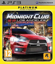 Midnight Club Los Angeles Complete Edition, PS3 Playstation 3, Tested,no Manual