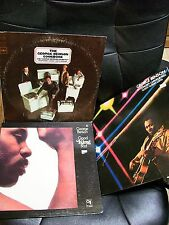 Lot of 3 George Benson jazz Guitar records LPs Steve GaddLonnie Smith Hubert Law