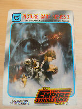 TOPPS STAR WARS EMPIRE STRIKES BACK TRADING CARD SET SERIES 2 + UNOPENED PACK