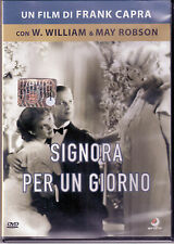 Signora Per Un Giorno Dvd Frank Capra W. William & May Robson