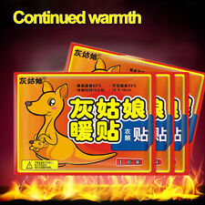 10X Body Warmer Stick Lasting Heat Patch Keep Hand Foot Warm Paste Pads