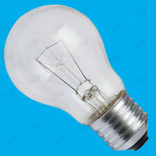 6x 100W Dimmable Clear GLS Standard Incandescent Light Bulbs ES E27 Screw Lamps