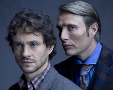 Hannibal Hugh Dancy Mads Mikkelsen 10x8 Photo