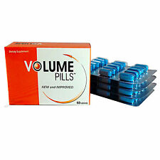 VOLUME PILLS Male Enhancement Increase Semen 500% More Sperm 1 Month Supply