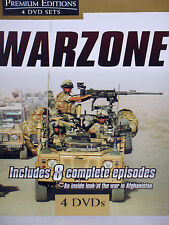WAR ZONE 4 DVD BOX $29 NEW! HISTORY,EDUCATIONAL ROYAL AIR FORCE,AFGHANISTAN .