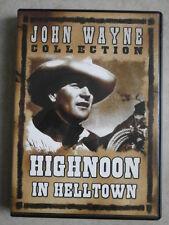 """DVD """"Highnoon in Helltown"""", mit John Wayne, Spieldauer ca. 53 Minuten."""