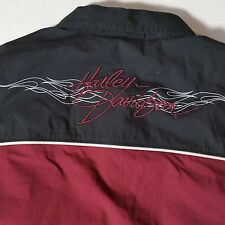 Women's Harley Davidson Embroidered Camp Shirt 1W NWOT