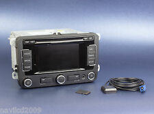 VW RNS310 GPS navigation system with V4 UK MAPS Sat Nav GPS RNS 310 RNS510