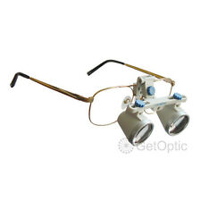 3.5X Dental Surgical Medical Binocular Loupe for Dentist 420mm Large View Field