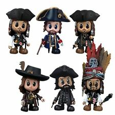 Genuine Hot Toys Pirates Of The Caribbean Cosbaby 6 Figure Full Set
