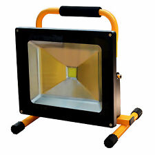 50w LED emisor batería lámpara de trabajo reflector colocado reflector impermeable amarillo Best