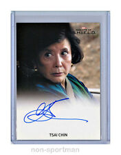 MARVEL AGENT OF SHIELD SEASON 1 TSAI CHIN AUTO