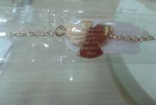 1 bracciale  argento 925 preghiera angelo di dio rosa 18 cm silver bracelet