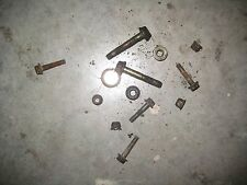 2004 Bombardier CAN AM Outlander 400 4X4 Right footrest well bracket rail bolts