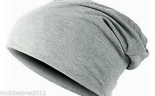 Unisex Cotton Warm Winter Baggy Beanie Slouch Knit Cap Ski  Skull Hat GO40