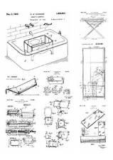 Historische Badewanne, Patente von 1894 bis 1930