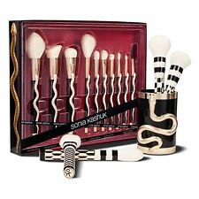 Sonia Kashuk Holiday LE Serpent Brush Set 10 pc + Holiday Brush Cup