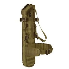 Voodoo Tactical Hunting Military Rifle Scabbard w/ Shoulder Harness& Belt Coyote