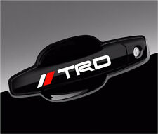 6 TRD Tacoma Racing Stickers JDM Decals for handle, mirror, wheels