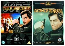 TIMOTHY DALTON JAMES BOND Film DVD Collection All Movies New Sealed