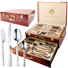 PRIMA 95 PIECE CANTEEN OF CUTTLERY IN WOODEN CASE NEW DESIGN FOR 2016