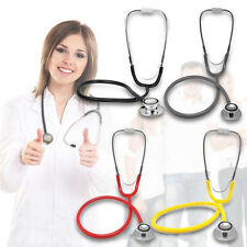 Doctor Nurses Dual Head EMT Clinical Stethoscope Pro Medical Auscultation Device