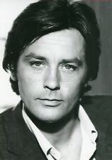 ALAIN DELON 70s VINTAGE PHOTO ORIGINAL