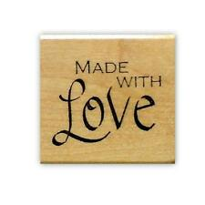 Made With Love Mounted rubber stamp #15
