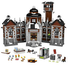 INCOMPLETE LEGO BATMAN MOVIE ARKHAM ASYLUM SET 70912 no minifigs/car jail only