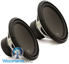"2 JL AUDIO 12W3V3-2 CAR 12"" SUBS 2-OHM 2000W MAX SUBWOOFERS BASS SPEAKERS NEW"