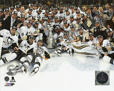 Pittsburgh Penguins 2016 Stanley Cup Champions Celebration 8x10 Ice Team Photo