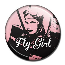 Fly Girl - Aviation Fridge Magnet - A great gift for the Lady Pilot!