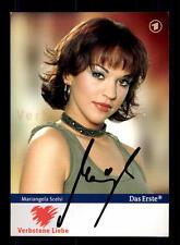 Mariangela Scelsi Verbotene Liebe Autogrammkarte Original Signiert # BC 85737