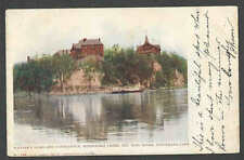 PPC #G168* GOOD POSTCARD SOLDIERS HOME MINNEHAHA PARK POSTED