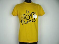 LE TOUR DE FRANCE T-SHIRT YELLOW SIZE MENS MEDIUM