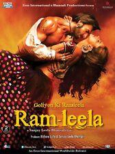 RAM LEELA ( RANVEER SINGH, DEEPIKA ) - BOLLYWOOD 2 DISC DVD