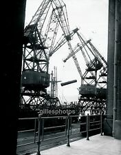 CHERBOURG c. 1960 - Grues Port Manche Normandie - Div 2503