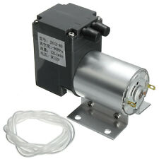 DC12V Mini Vacuum Pump Negative Pressure Suction Pump 12L/min 120kpa W/ Holder