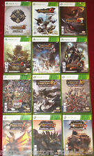 XBOX 360 MONSTER HUNTER FRONTIER G GG G1 G2 G5 G7 2013 9.0 10 1 3 5 NTSC-J Japan