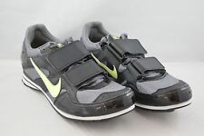 Mens Nike Zoom TJ 3 Triple Jump Spikes Shoes Black Grey Volt 474132-070