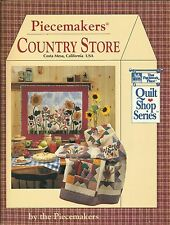 Piecemakers Country Store (1993, Paperback)
