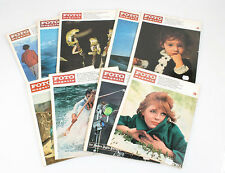 FOTO MAGAZINE 1966 GROUP OF 9 3,4,5,6,6,7,8,9,10