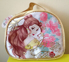 NWT Soho Disney Belle Beauty and the Beast Train Case Comestic Bag Live Action