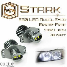 BMW Angel Eyes 20W CREE Halo Ring LED Light E90 2006-2008 323i 328i 330xi 335i