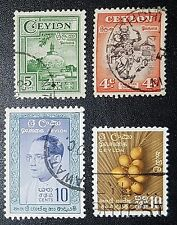CEYLON Mixed Selected Stamps (No 104)