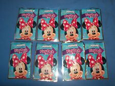 LOT 8 DISNEY MINNIE MOUSE PLAY PACKS PARTY FAVORS EASTER HALLOWEEN GIFT BAGS
